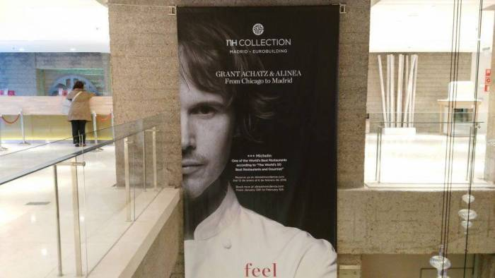 CHICAGO-MADRID. La mudanza de Achatz