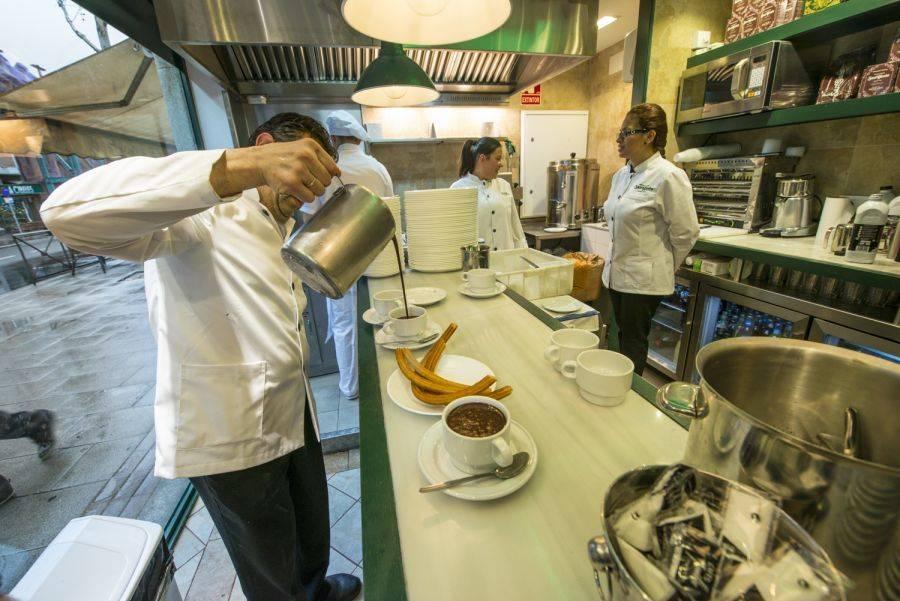 CHOCOLATERÍAS MADRILEÑAS. Las cinco más deseadas