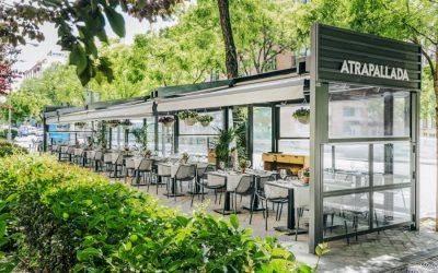 ATRAPALLADA. La terraza de Madrid con esencias gallegas