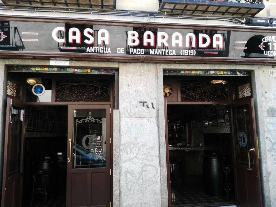 CASA BARANDA. La nueva taberna de Madrid en homenaje a Paco Manteca