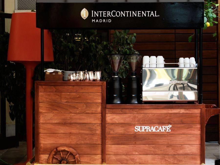 SUPRACAFÉ . Llega el coffee truck al Hotel Intercontinental