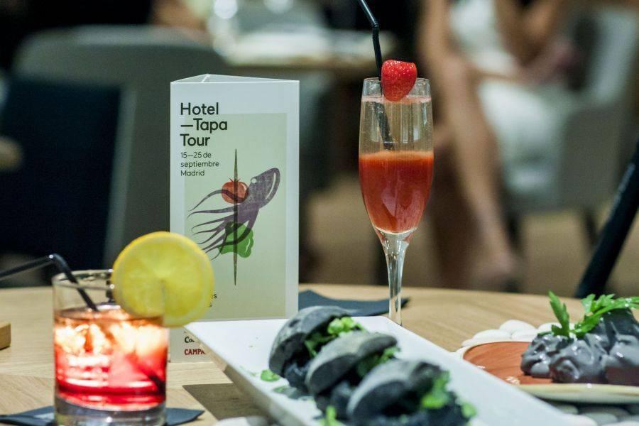HOTEL TAPA TOUR. Una sugestiva ruta del tapeo por los hoteles de Madrid