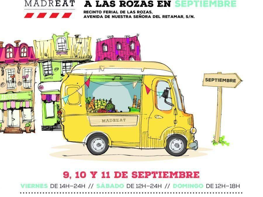 MADREAT. Vuelve la fiesta de la gastronomía…y del deporte