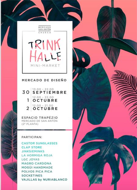 TRINKHALLE MINI MARKET. Mercado de diseño independiente en San Antón