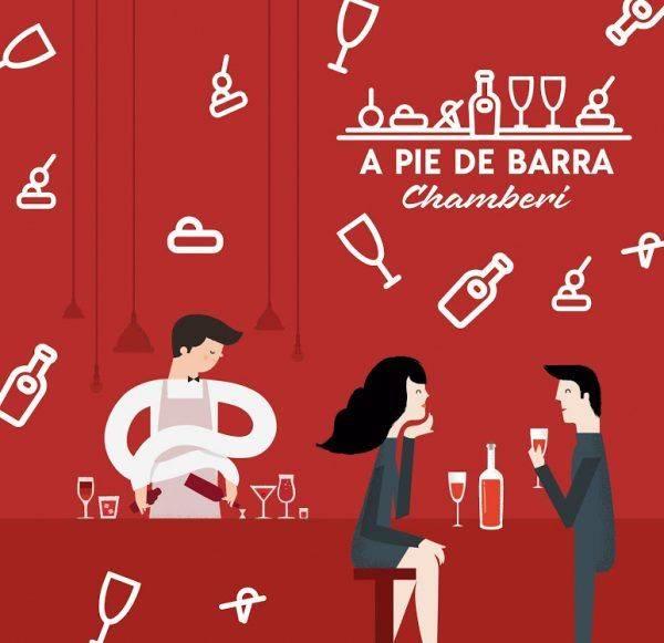 A PIE DE BARRA. Pinchos gourmet con vinos de Madrid: la armonía perfecta