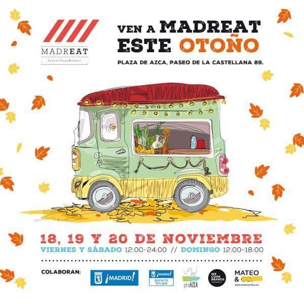 MADREAT. Vuelve la fiesta gastronómica callejera
