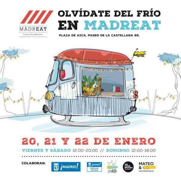 MADREAT. Celebrando la llegada de 2017 con la mejor streetfood