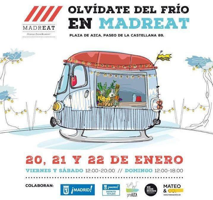 MADREAT. Celebrando la llegada de 2017 con la mejor street food
