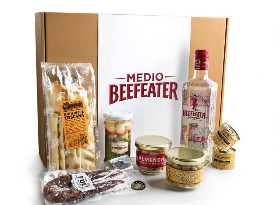 BEEFEATER Y PETRA MORA. Un pack perfecto para un aperitivo con estilo
