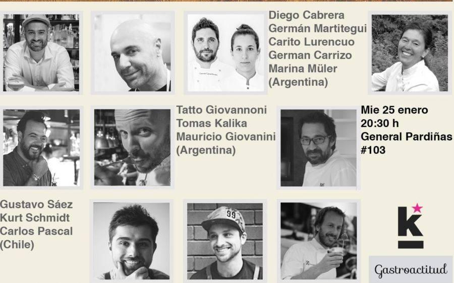 KITCHEN CLUB y GASTROACTITUD. La gastronomía de Argentina y Chile en Madrid