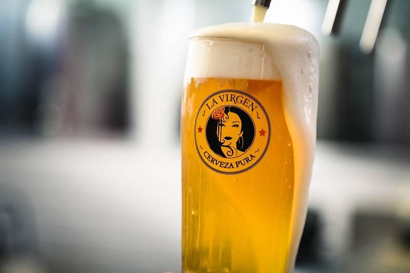LA VIRGEN. Premios para una gran cerveza