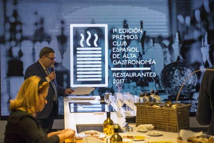 CLUB ESPAÑOL DE ALTA GASTRONOMÍA. Los nuevos premios gastronómicos
