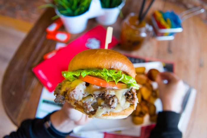 GOIKO GRILL. La nueva burger se llama ROSBIF