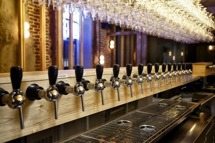 EL SAINETE. Cultura cervecera maridada con alta cocina informal