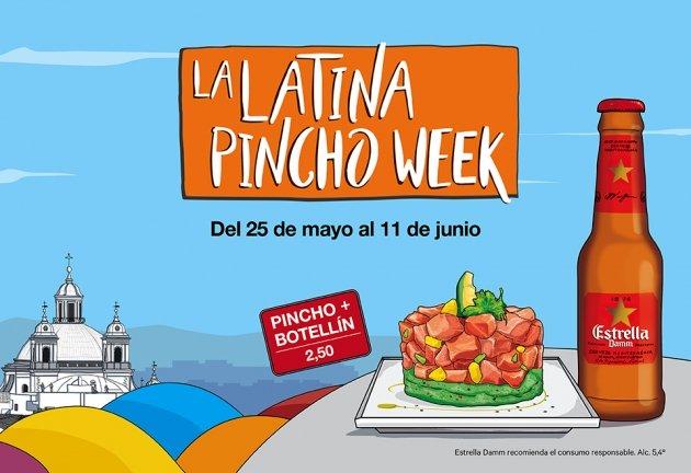 LA LATINA PINCHO WEEK. Una fiesta gastronómica muy castiza