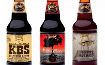 BARREL AGED de FOUNDERS. Cervezas artesanas envejecidas en barrica