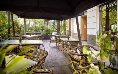 LA HUERTA DE CARABAÑA. Nueva terraza en pleno barrio de Salamanca