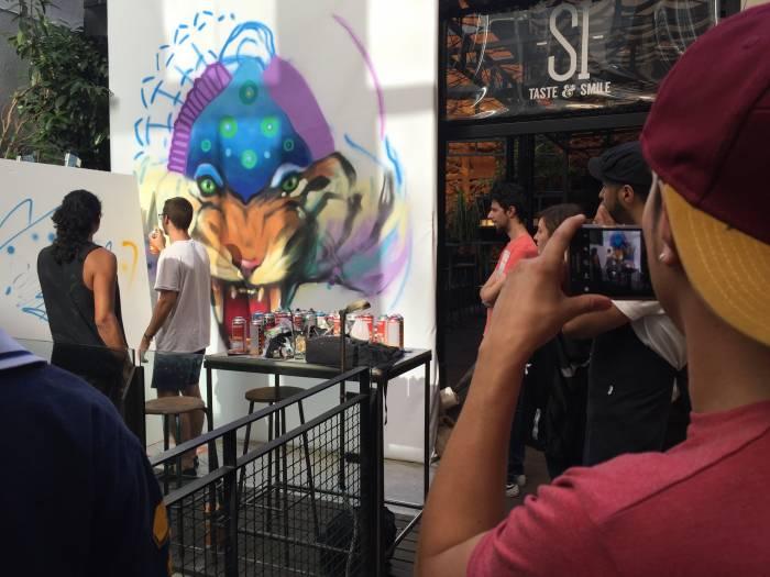 MERCADO DE SAN ILDEFONSO. II Concurso de pintura Street Food Fest