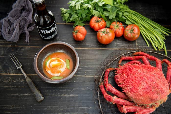 MAHOU.  Para comerse El Retiro con sabor a mar