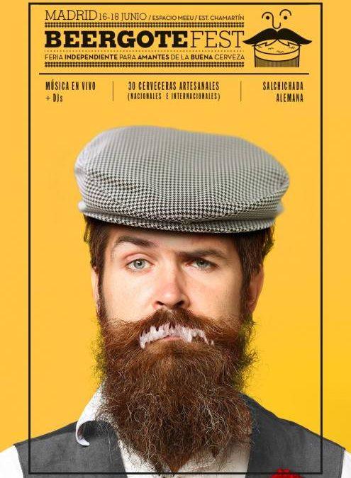 BEERGOTEFEST. La gran fiesta de la cerveza en Madrid