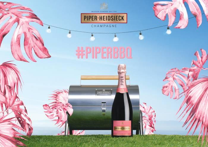 PIPER-HEIDSIECK. El champagne y la barbacoa son para el verano