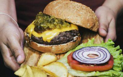 SKYLINE DINER. Sweet Home Alabama, hamburguesa con sabor original