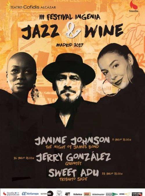 FESTIVAL INGENIA JAZZ & WINE. Maridaje de sensaciones en el Teatro Alcázar