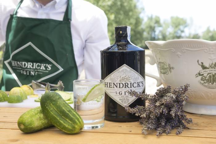 HENDRICK'S GIN. El mejor pepino para la mejor ginebra