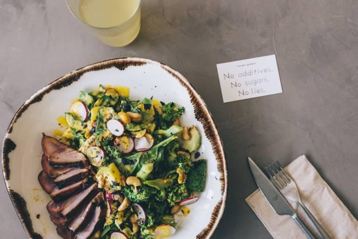 HONEST GREENS. La  sabrosa revolución del equilibrio gastronómico