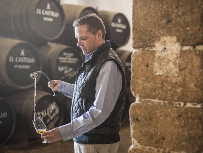 BODEGAS LUSTAU. Sergio Martínez el mejor enólogo de España 2017