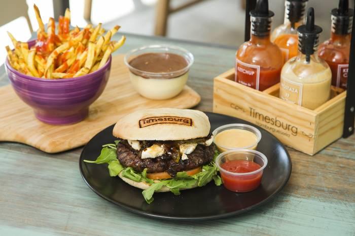 TIMESBURG. La sorprendente y sabrosa hamburguesa Blue Cheese