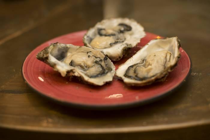 PLATEA. Para degustar las mejores ostras