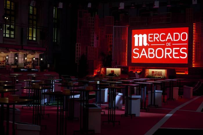 MERCADO DE SABORES. Cerveza y gastronomía juntos con MAHOU