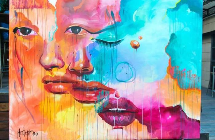 MERCADO DE SAN ILDEFONSO. Una apuesta divertida por el Street Art