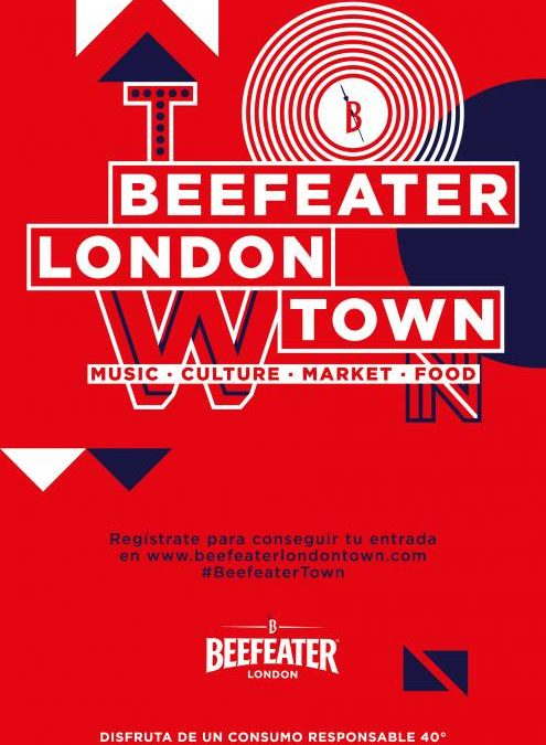 BEEFEATER LONDON TOWN. Las esencias de Londres en el centro de Madrid