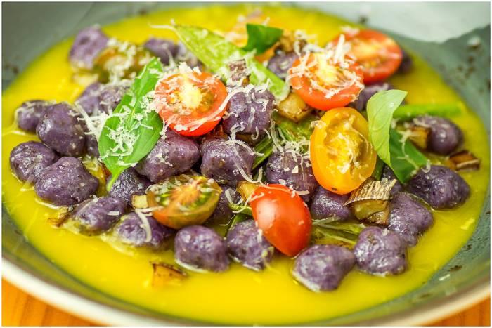 PIZZI & DIXIE. Brillante cocina de autor para una propuesta vegana