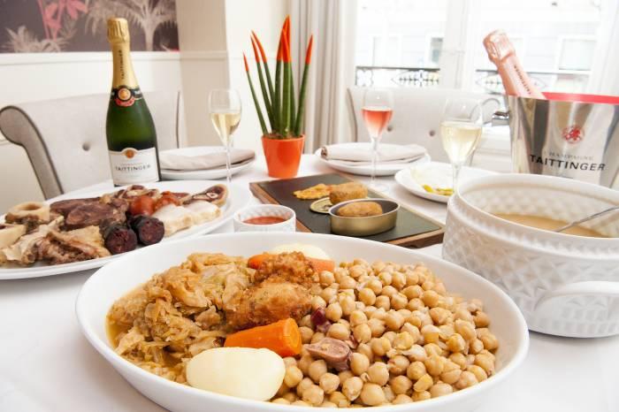 RECETAS PARA EL INVIERNO. El cocido madrileño