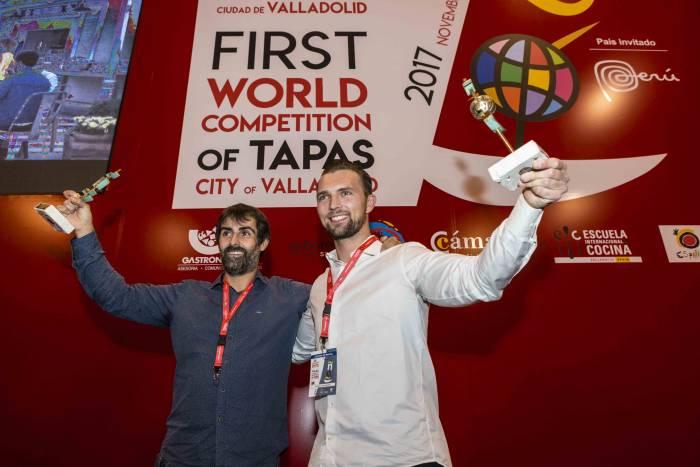 PINCHOS Y TAPAS VALLADOLID 2017. ¡Ya tenemos ganadores del Concurso Nacional y del Campeonato Mundial!