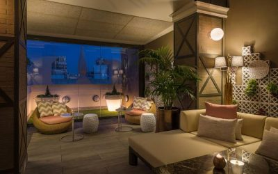 HOTEL EMPERADOR. La terraza de moda de este invierno