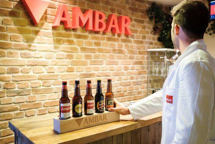 "AMBAR. Llega a Madrid el primer ""juego de escape"" cervecero de España"