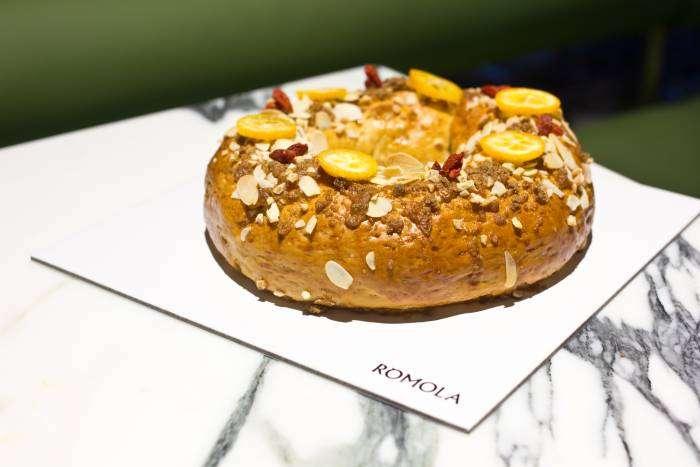 RÓMOLA. Un Roscón de Reyes saludable y natural
