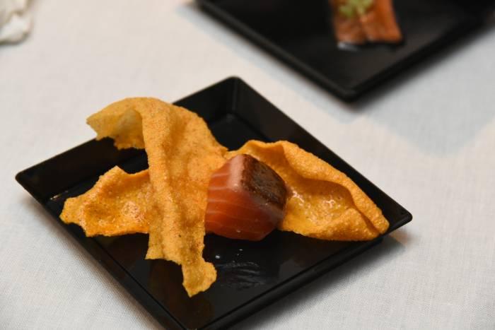 KVITSØY. Uno de los mejores salmones noruegos llega a Madrid