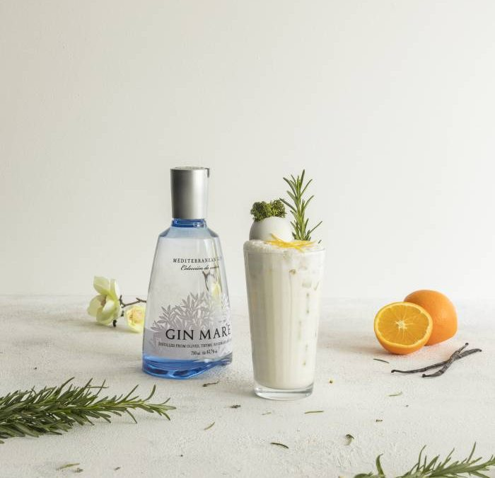 GIN MARE. El cóctel inspirado en los ingredientes de las torrijas