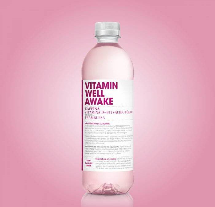VITAMIN WELL AWAKE. Glowga, frambuesas y cafeína ¡Esto sí que es cuidarse!