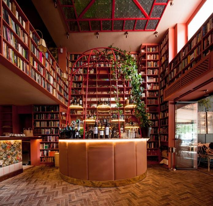 MADAME SUSHITA. Una biblioteca muy gastronómica