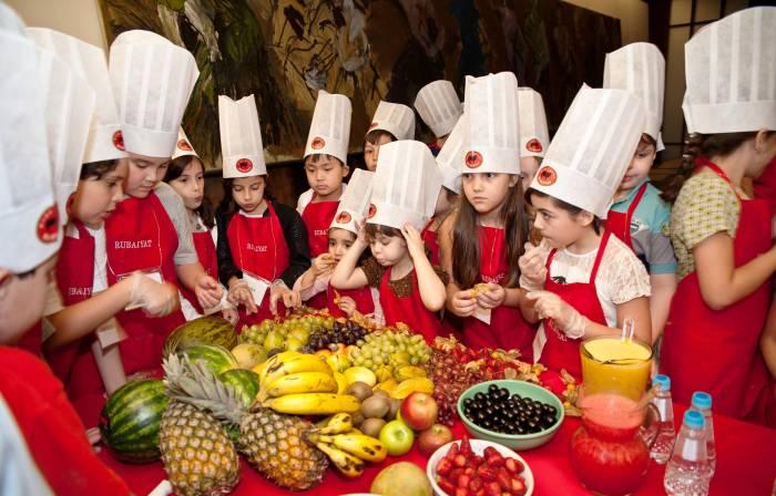 RUBAIYAT MADRID. Talleres de cocina para niños