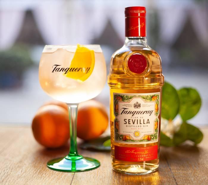 TANQUERAY FLOR DE SEVILLA. Una ginebra con un sabor muy especial