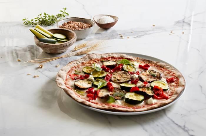 GINOS. La nueva masa de pizza 100% integral ya está en la mesa