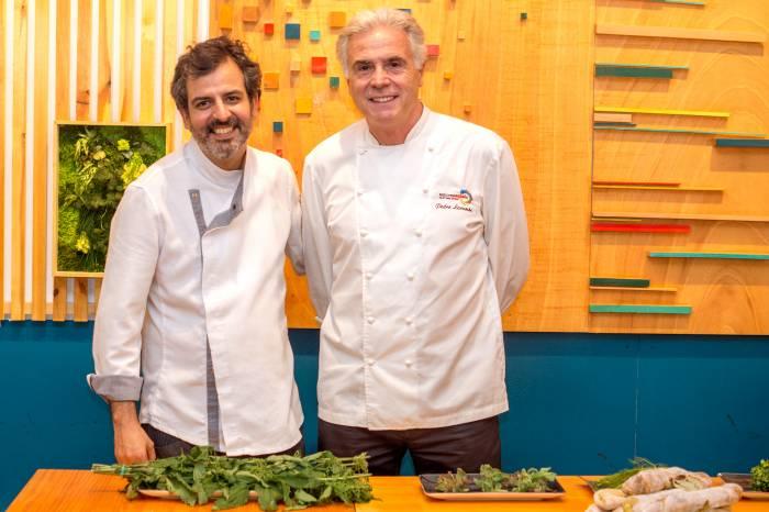 PIZZI & DIXIE y EL 38 DE LARUMBE. Plantas silvestres para una cocina de vanguardia