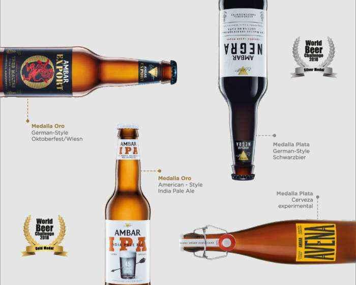 AMBAR. Una cerveza de premios
